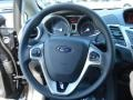 Charcoal Black Steering Wheel Photo for 2013 Ford Fiesta #69867868