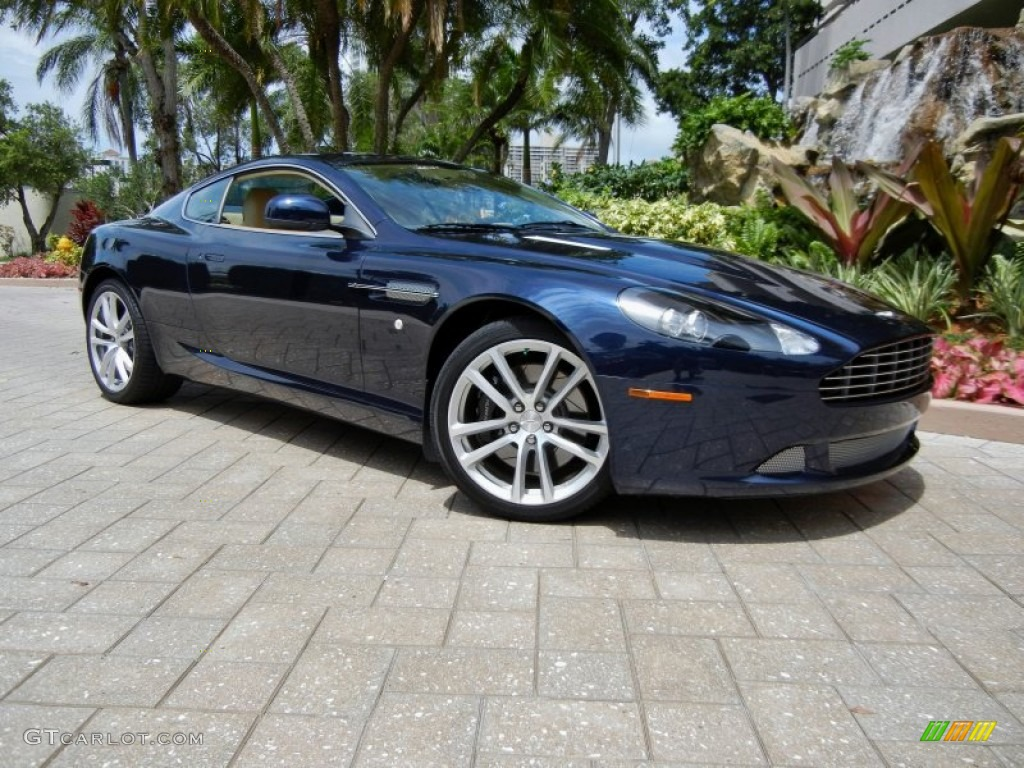 2011 Midnight Blue Aston Martin DB9 Coupe #69841468 ...