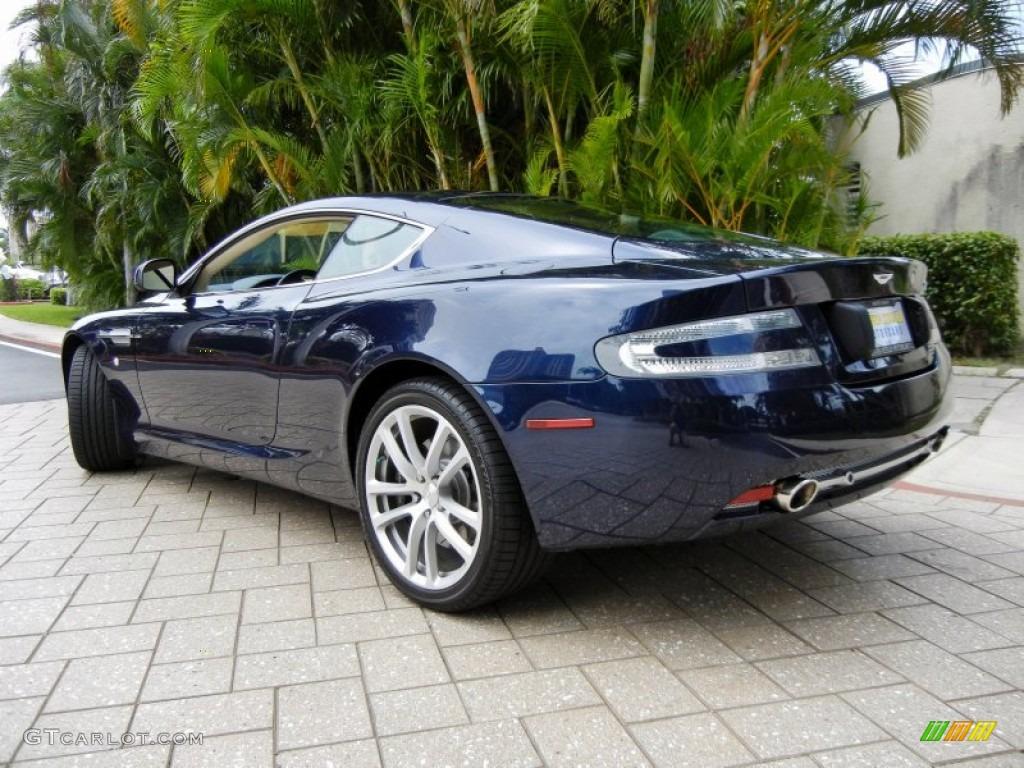2011 Midnight Blue Aston Martin Db9 Coupe 69841468 Photo 2 Gtcarlot Com Car Color Galleries