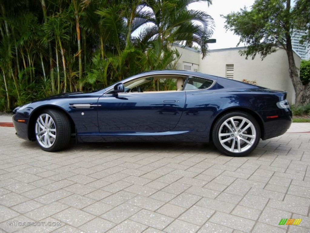 Midnight Blue 2011 Aston Martin DB9 Coupe Exterior Photo ...