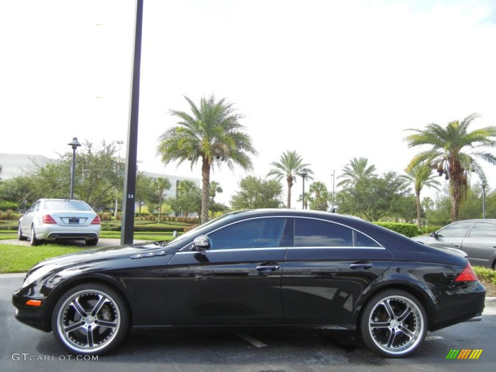 2007 mercedes benz cls 550 custom wheels photo 69872452