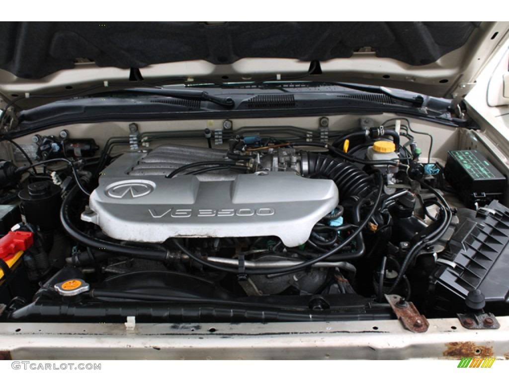2001 infiniti qx4 4x4 3 5 liter dohc 24 valve v6 engine. Black Bedroom Furniture Sets. Home Design Ideas