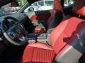 Radar Red/Dark Slate Gray Interior Photo for 2013 Dodge Challenger #69877705