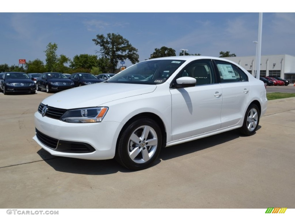 2013 Candy White Volkswagen Jetta Tdi Sedan 69841441