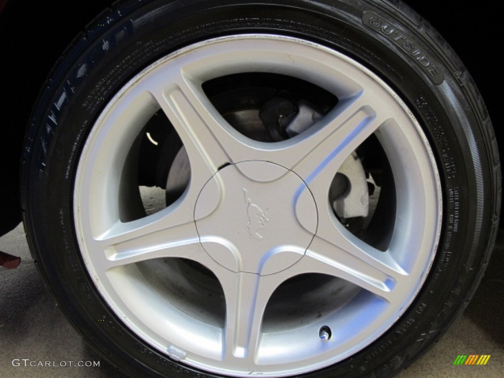 2002 Ford Mustang GT Coupe Wheel Photo #69887965