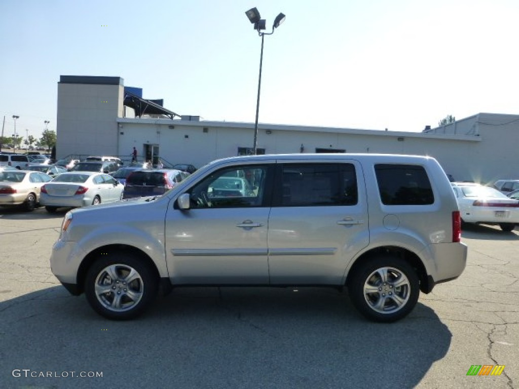 2012 Alabaster Silver Metallic Honda Pilot Ex L 4wd 69841679 Gtcarlot Com Car Color Galleries