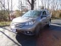 2012 Alabaster Silver Metallic Honda CR-V EX-L 4WD  photo #3