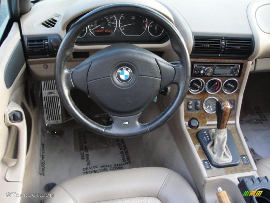 2001 Bmw Z3 3 0i Roadster Beige Dashboard Photo 69900040