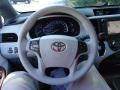 2012 Silver Sky Metallic Toyota Sienna XLE  photo #24