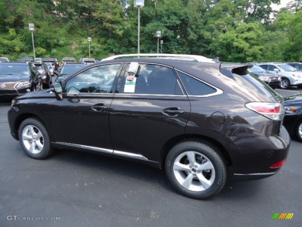 Fire Agate Pearl 2013 Lexus Rx 350 Awd Exterior Photo 69901015
