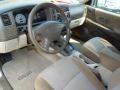 Tan 2002 Mitsubishi Montero Sport Interiors