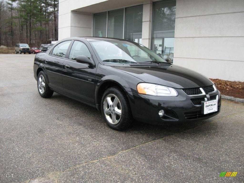 2005 brilliant black dodge stratus sxt sedan 6964104. Black Bedroom Furniture Sets. Home Design Ideas