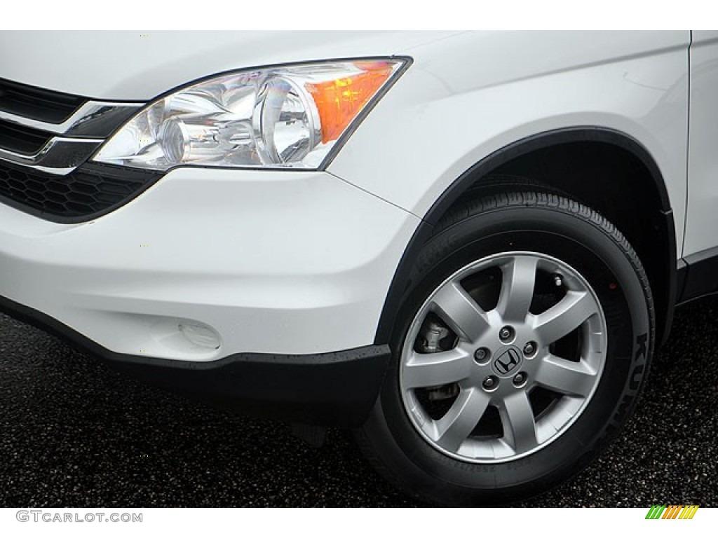 2011 CR-V SE - Taffeta White / Black photo #1