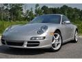Arctic Silver Metallic 2005 Porsche 911 Gallery