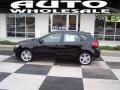 Ebony Black 2012 Kia Forte 5-Door SX