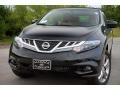 2011 Super Black Nissan Murano CrossCabriolet AWD  photo #2