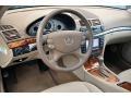 Sahara Beige/Black 2008 Mercedes-Benz E Interiors