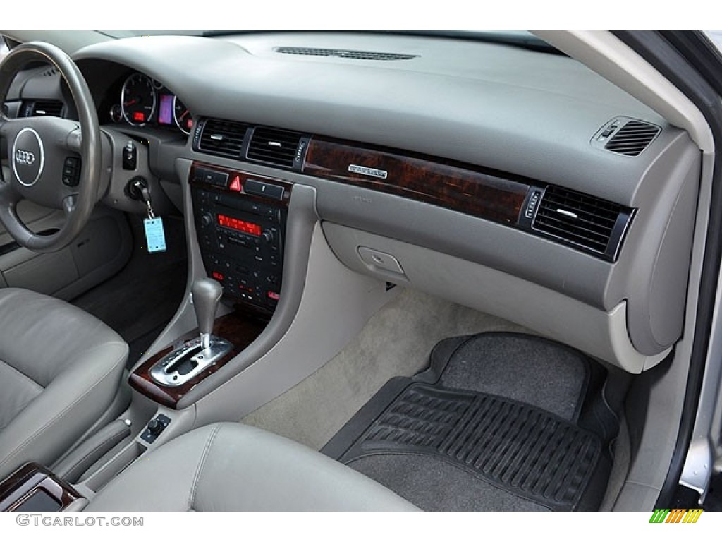 2004 Audi A6 3 0 Quattro Sedan Platinum Dashboard Photo