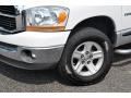 2006 Bright White Dodge Ram 1500 SLT Regular Cab 4x4  photo #2