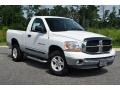 2006 Bright White Dodge Ram 1500 SLT Regular Cab 4x4  photo #1