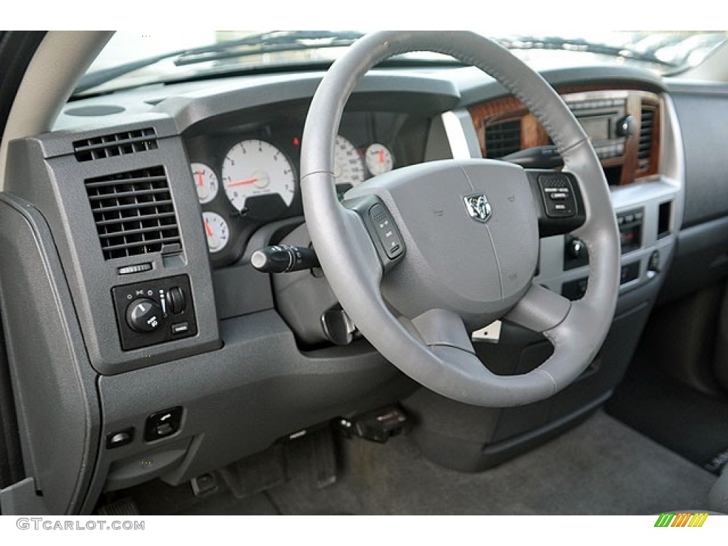 2006 Ram 1500 Laramie Quad Cab - Mineral Gray Metallic / Medium Slate Gray photo #14