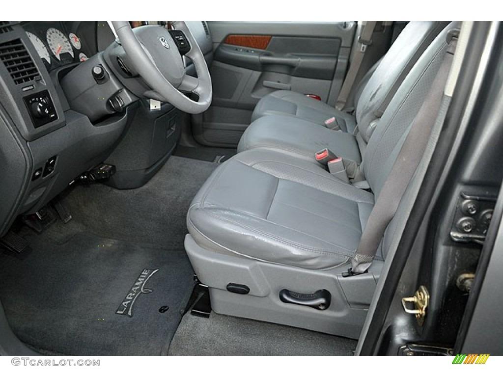 2006 Ram 1500 Laramie Quad Cab - Mineral Gray Metallic / Medium Slate Gray photo #15