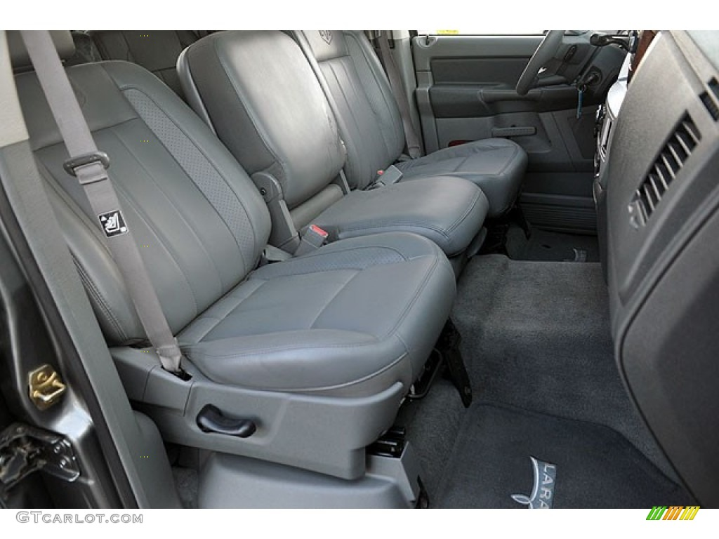 2006 Ram 1500 Laramie Quad Cab - Mineral Gray Metallic / Medium Slate Gray photo #19