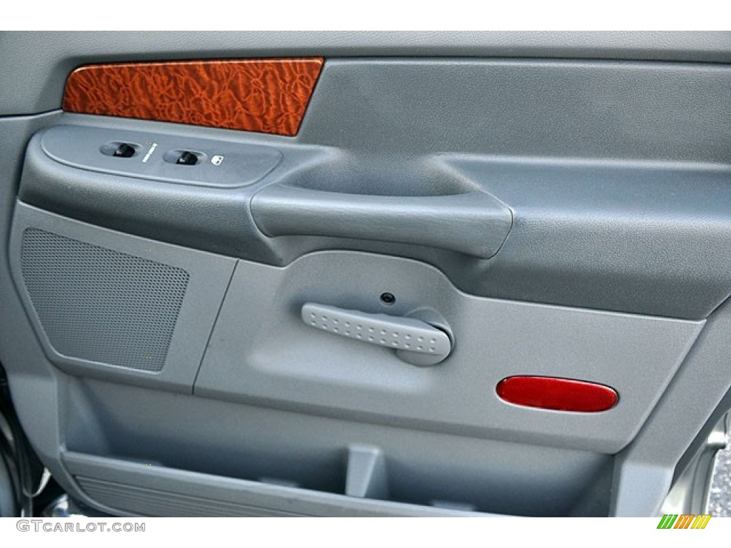 2006 Ram 1500 Laramie Quad Cab - Mineral Gray Metallic / Medium Slate Gray photo #22