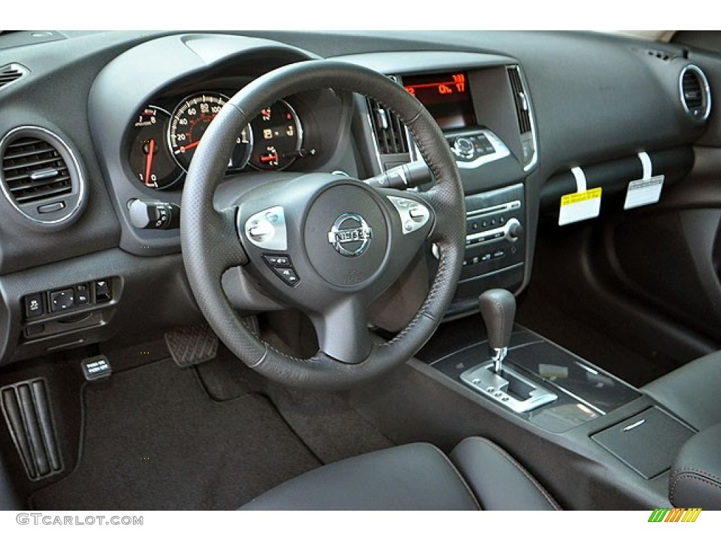 Wonderful Charcoal Interior 2012 Nissan Maxima 3.5 SV Photo #69937043