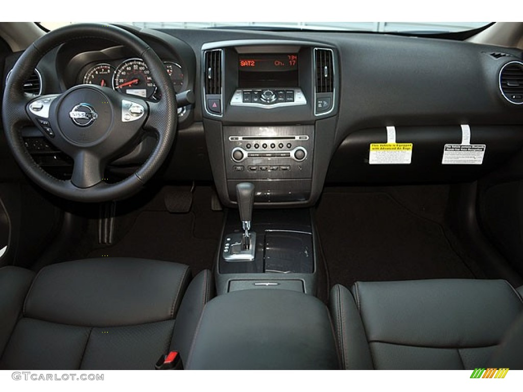 2012 Nissan Maxima 3 5 Sv Charcoal Dashboard Photo
