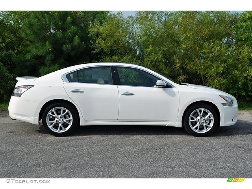 winter frost white 2012 nissan maxima 3 5 sv sport exterior photo 69937221. Black Bedroom Furniture Sets. Home Design Ideas