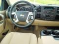 2012 Chevrolet Silverado 1500 Light Cashmere/Dark Cashmere Interior Dashboard Photo