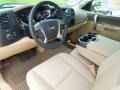 2012 Chevrolet Silverado 1500 Light Cashmere/Dark Cashmere Interior Prime Interior Photo