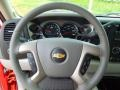 2012 Chevrolet Silverado 1500 Light Titanium/Dark Titanium Interior Steering Wheel Photo