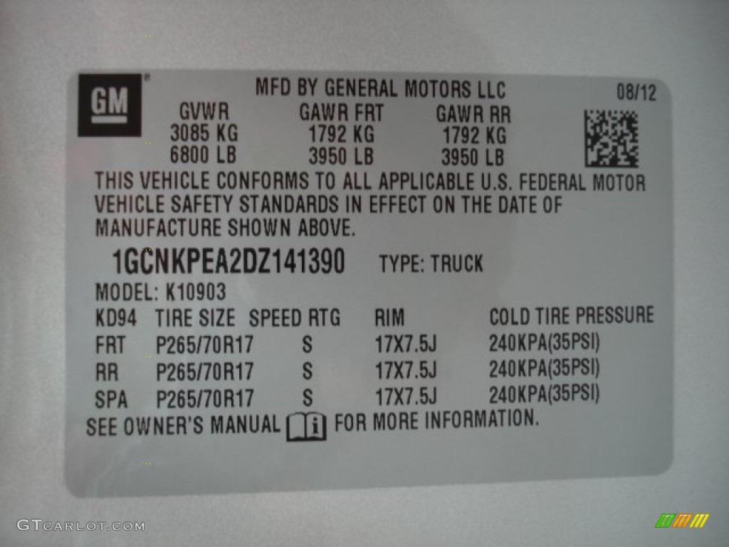 2013 Silverado 1500 Work Truck Regular Cab 4x4 - Silver Ice Metallic / Dark Titanium photo #20