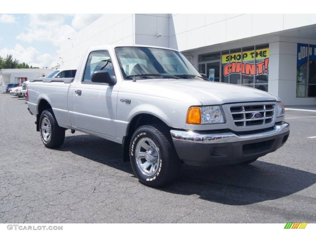 Silver frost metallic ford ranger