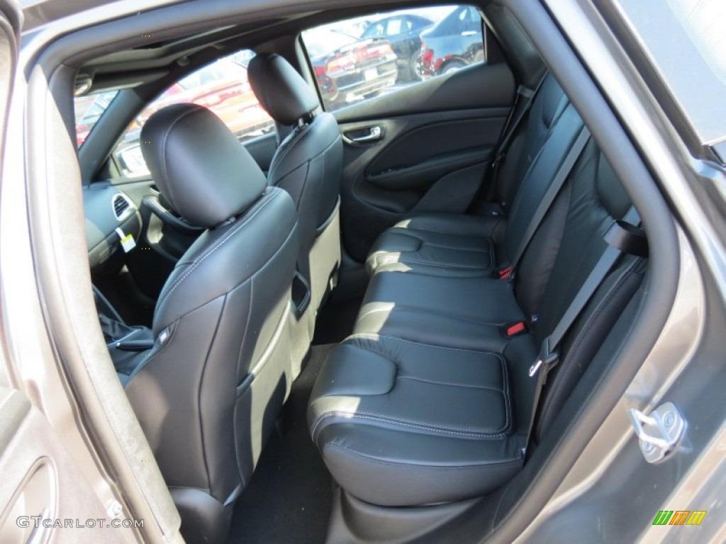 Black Interior 2013 Dodge Dart Limited Photo 69960262