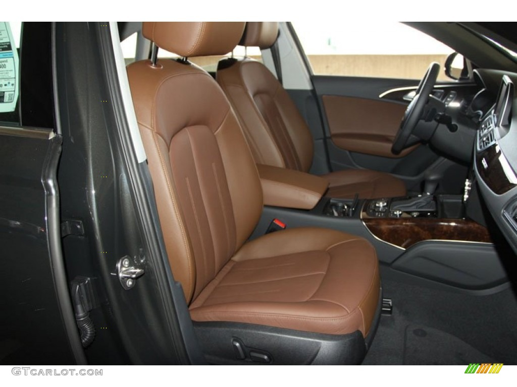 Audi A6 Nougat Brown Interior Nougat Brown Interior 2013 Audi At Quattro Sedan Nougat Ash Vs