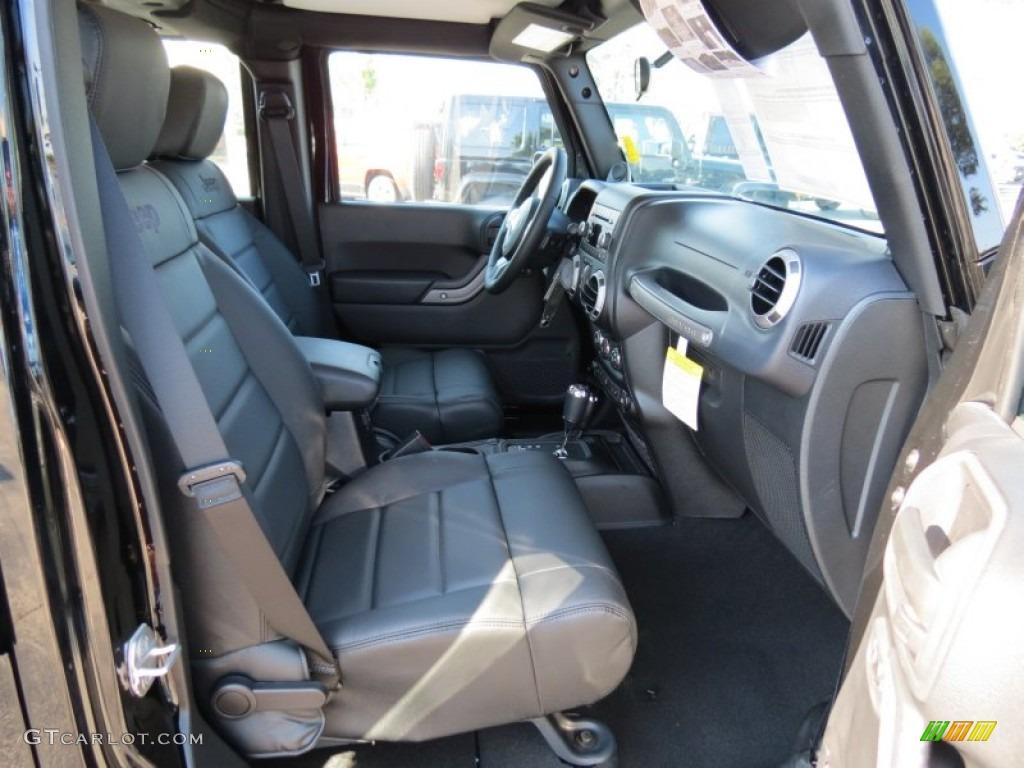 Black Interior 2012 Jeep Wrangler Unlimited Sport 4x4 Photo 69961276