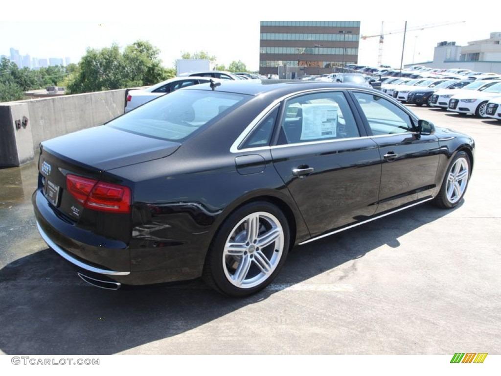 Havanna black metallic 2013 audi a8 l 4 0t quattro for Audi a8 exterior 2017
