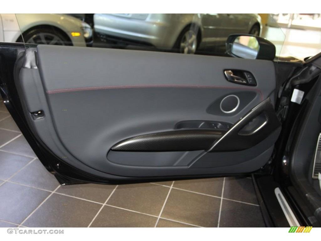 2012 Audi R8 Gt Black Door Panel Photo 69962374