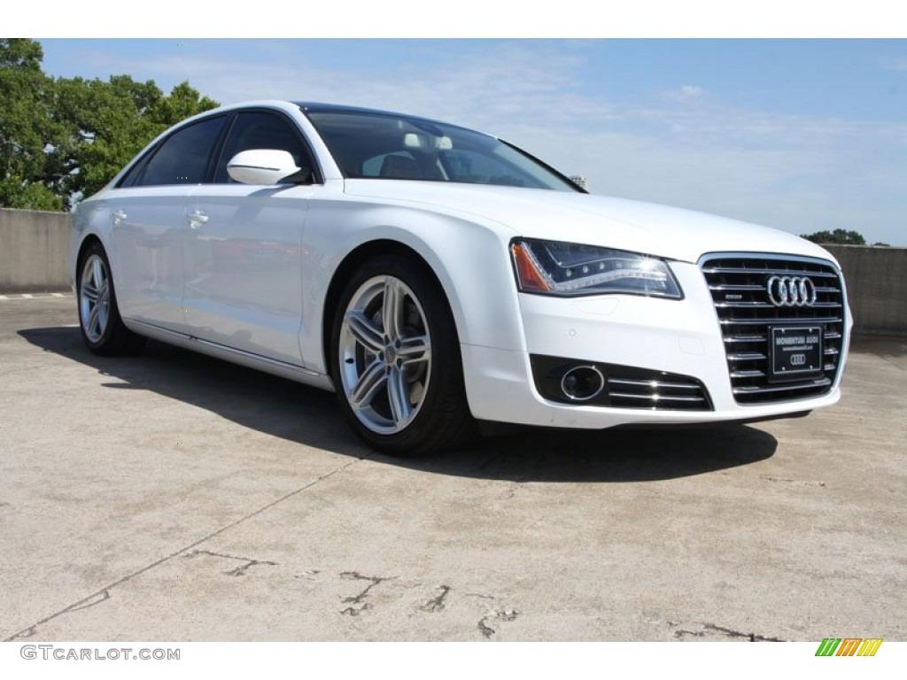Audi a8 2014 white