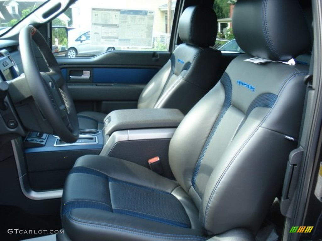 raptor black leathercloth 2014 ford raptor blue interior