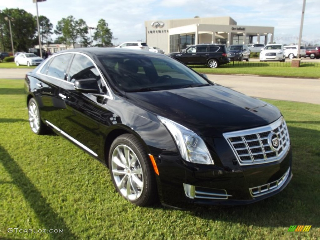black raven 2013 cadillac xts luxury fwd exterior photo. Black Bedroom Furniture Sets. Home Design Ideas