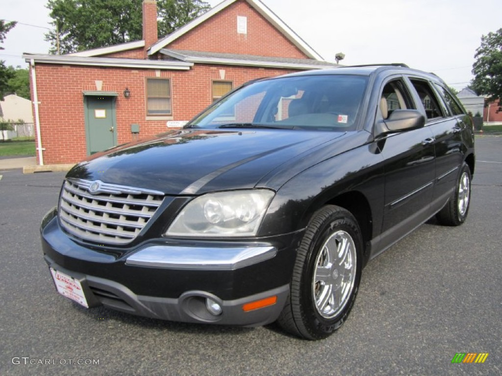 Brilliant Black Crystal Pearl 2004 Chrysler Pacifica Awd