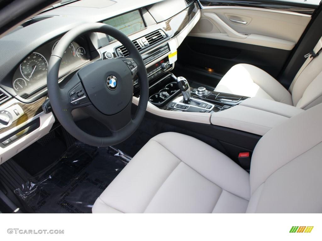 oyster black interior 2013 bmw 5 series 535i sedan photo 69974917