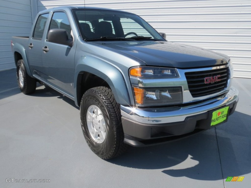 2007 stealth gray metallic gmc canyon sle crew cab. Black Bedroom Furniture Sets. Home Design Ideas