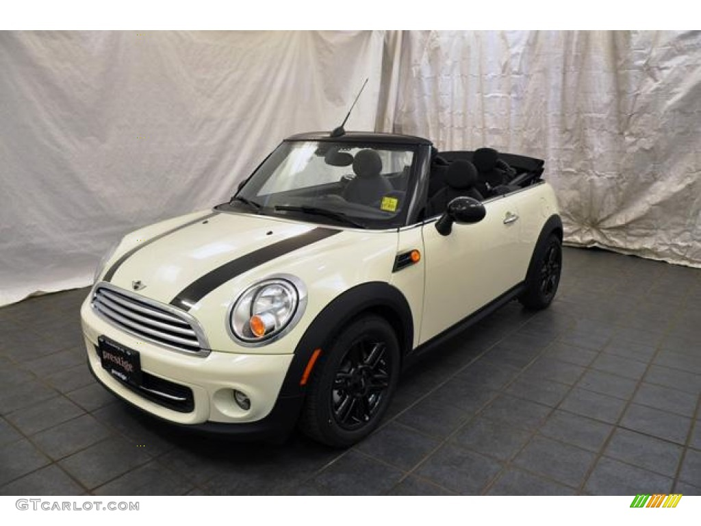 Pepper White Mini Cooper Convertible