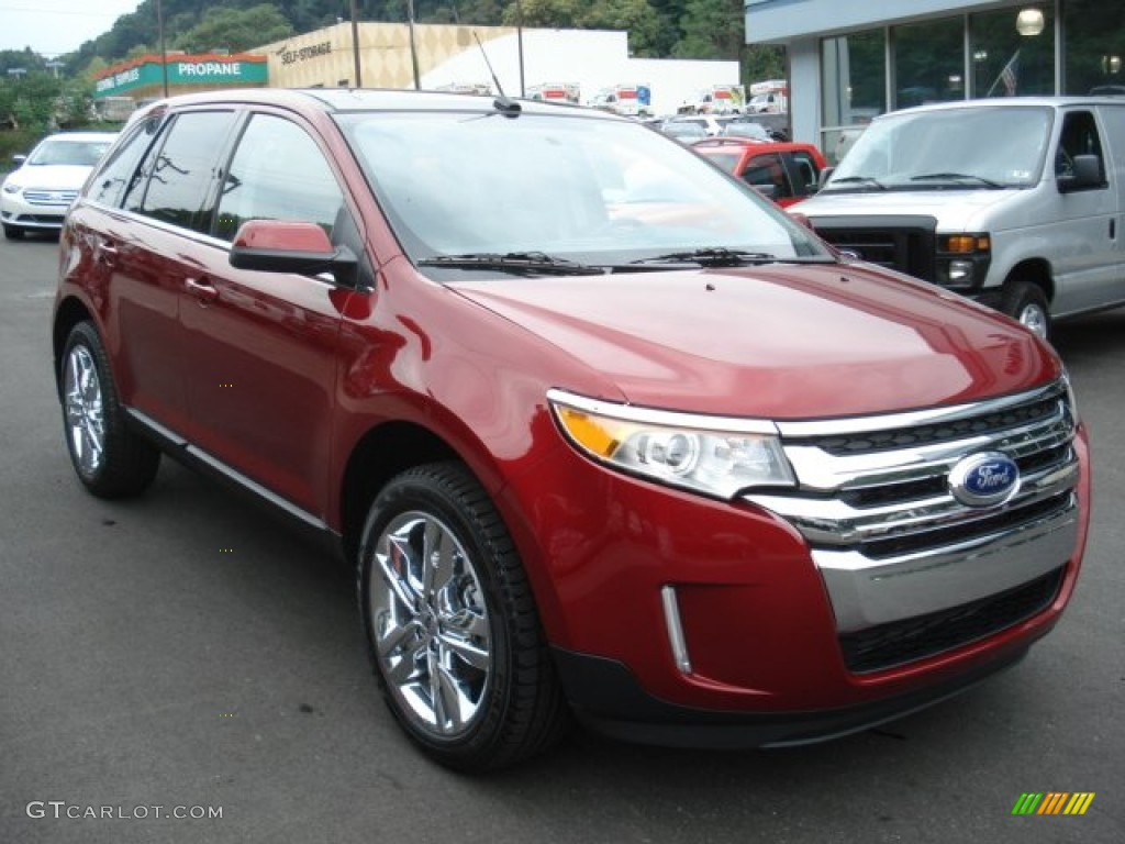 2013 ruby red ford edge limited awd 69949386 photo 2 car color galleries. Black Bedroom Furniture Sets. Home Design Ideas