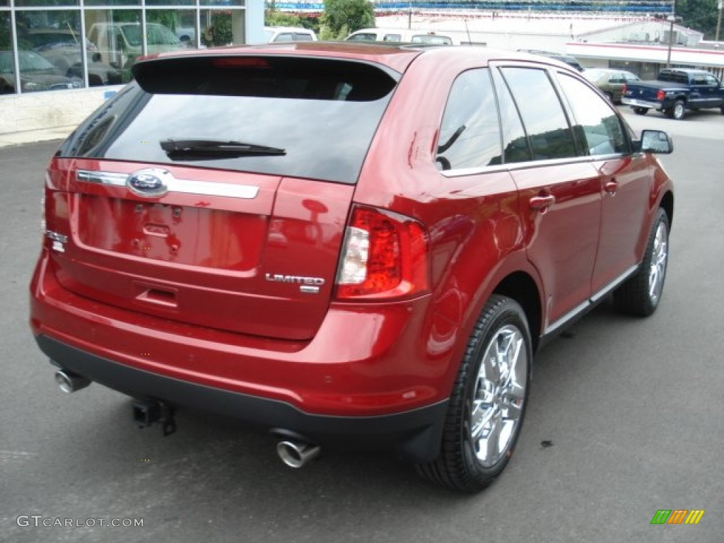 2013 ruby red ford edge limited awd 69949386 photo 8 car color galleries. Black Bedroom Furniture Sets. Home Design Ideas